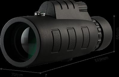 Starscope Monocular Ultra Puissant /éTanche /à Haute D/éFinition Monoculaire Puissant Vision Nocturne pour Regarder12*50 CFMZ Monocular Telescope